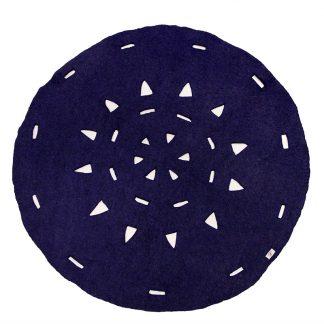 Vilten kleed Batulo blue